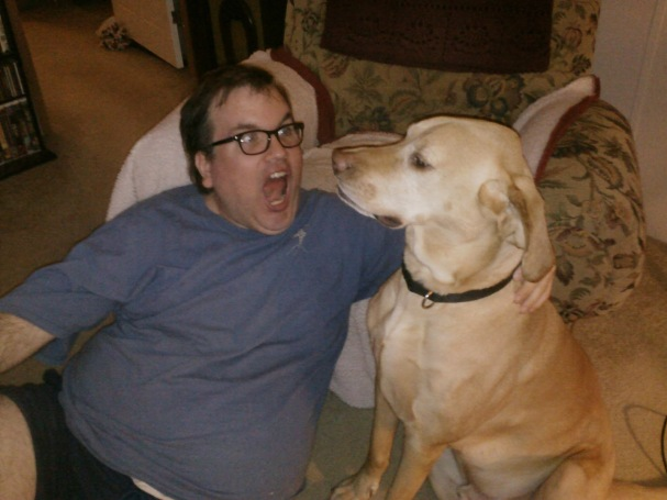 A Crazy Man and His Dog