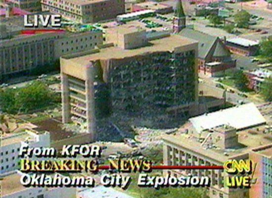 The Murrah Federal Building in Oklahoma City, OK