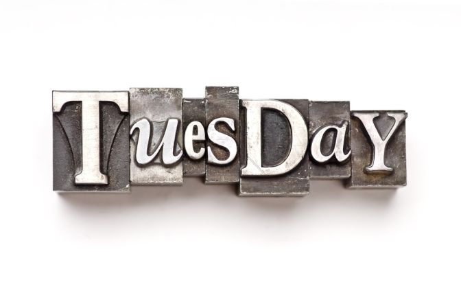 It's Tuesday, In Case You Didn't Know…