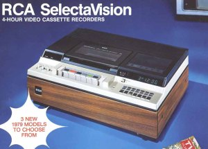 This is the VCR we had when I was a kid.