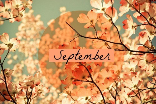 Welcome September 2015!