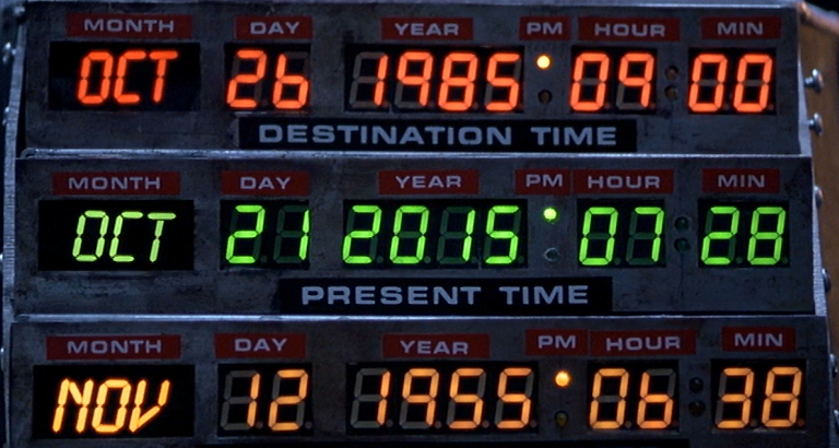 Happy Back To The Future Day – The Future Is Here!