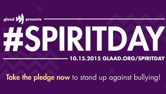 I'm Against Bullying #spiritday