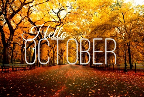 Hello October 2015! You came up on us fast.