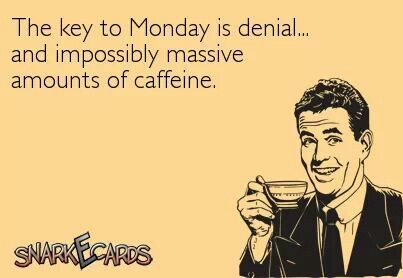 It's Monday…Meh