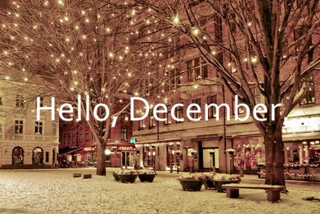 Hello December 2015, Let's DoThis!