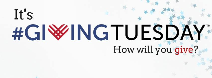 Today Is #GivingTuesday, An Opportunity To Give Back