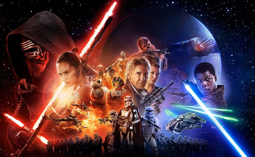 The Force Awakens Indeed, Star Wars Is New AndFamiliar