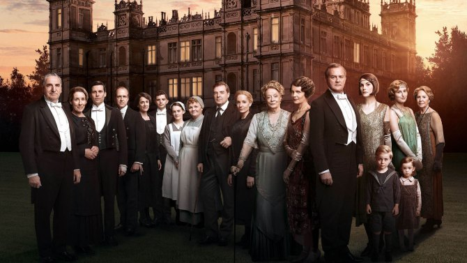 Tears in my eyes for Downton Abbey