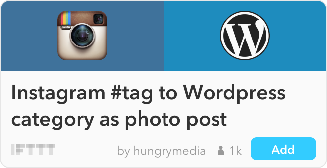 About My Instagram Photos On MyBlog