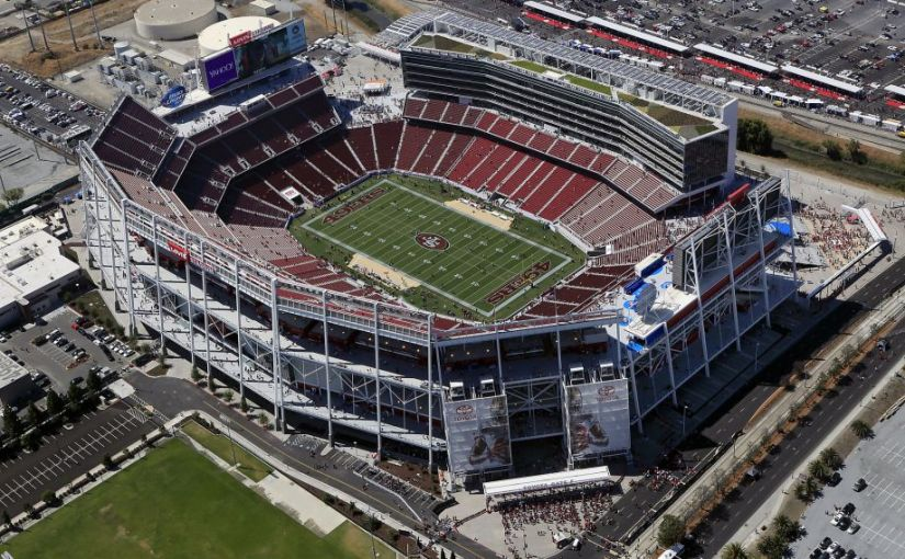 The Site Of Super Bowl 50, Levi's Stadium Home Of The San Francisco 49ers
