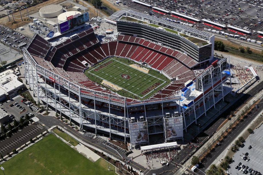 The Site Of Super Bowl 50, Levi's Stadium Home Of The San Francisco49ers