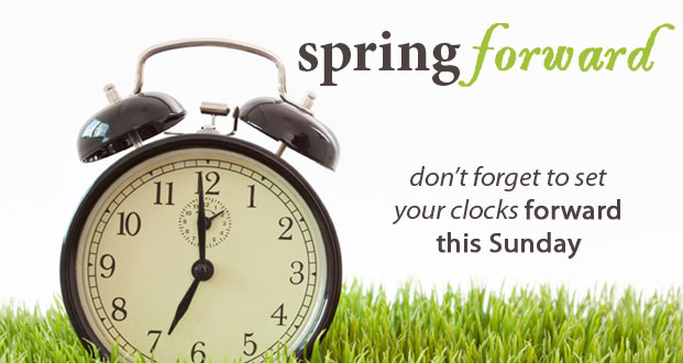 It's Time To Spring Forward America!…Boo! #dst