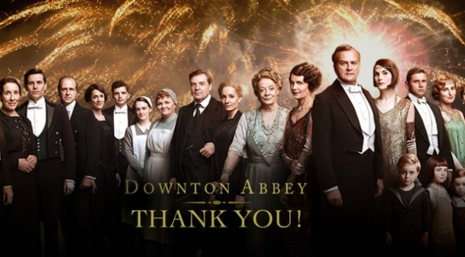 The Farewell To Downton Abbey One Week Ago