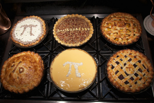 It's Pie/Pi Day – March 14, 2016