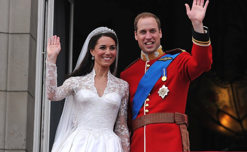 Happy Fifth Anniversary To William andCatherine