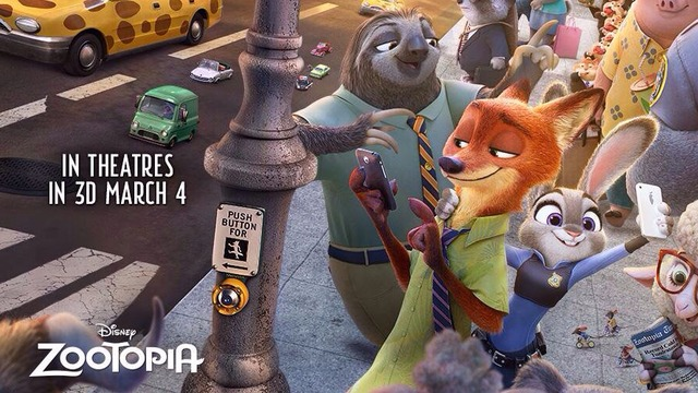 Zootopia on Blu Ray, It's A GreatFlick!
