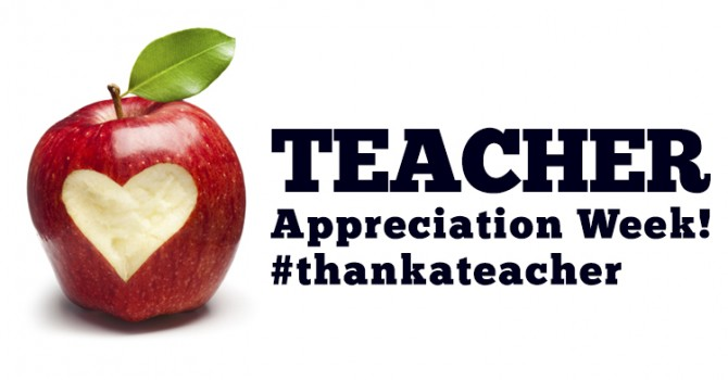 Teacher Appreciation Week #teacherappreciationweek