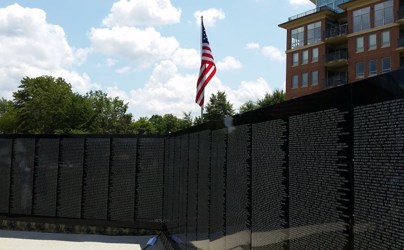 The Moving Wall, Vietnam Memorial Comes To#Chattanooga