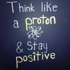 proton-positive
