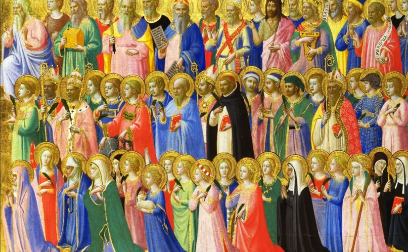 All Saints Day 2016 – Remembering Those Who Have Gone Before. #allsaints