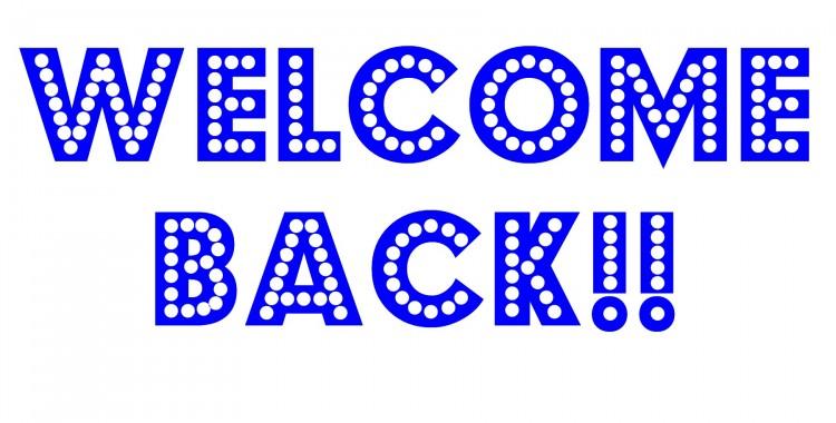 Welcome Back FellowBloggers