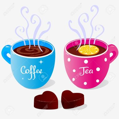 17224856-illustration-of-two-cups-of-coffee-and-tea-and-sweets-Stock-Vector