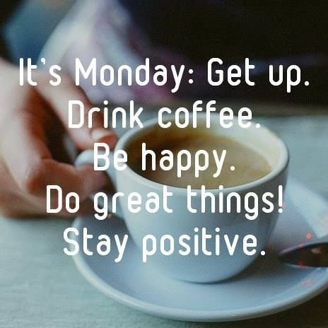 Daring To Be Positive On A Monday – The Tony Burgess Blog