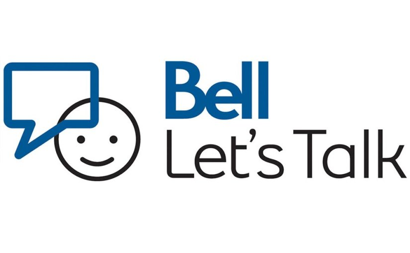 Bell Let's Talk About Mental Health #BellLetsTalk