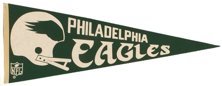 philadelphia-eagles-nfl-pennant-1960s