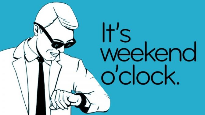 Happy Weekend Friends!