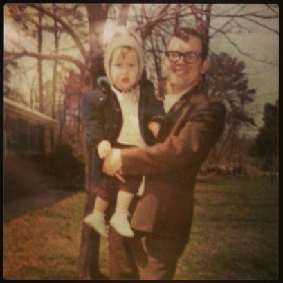 Me and my dad, Gary Burgess