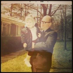 Me and my granddad, Leon Webb