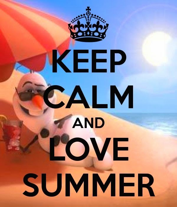Olaf From #Frozen Says Happy Summer