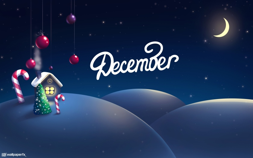 december-2880x1800-christmas-decoration-house-tree-half-moon-snow-hd-3951