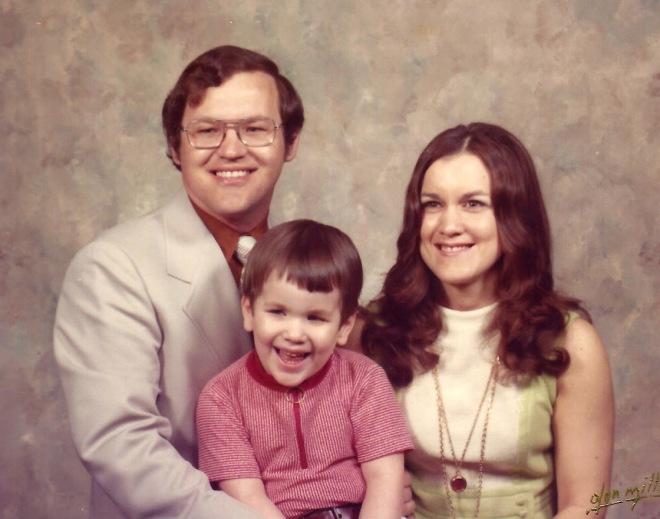Gary _ Shelia with Tony about 1975